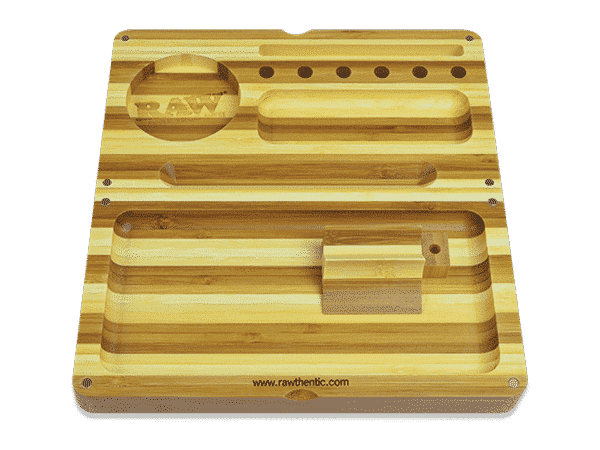 RAW-Back-Flip-Striped-Bamboo-Rolling-Tray
